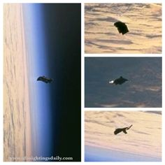 Amazing UFO photo - UFO SIGHTINGS DAILY: UFO Sighting Photos leaked out of NASA-Johnson Space Center, 100% clear UFOs In High Detail.
