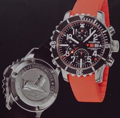 Swiss Fortis Marine Master chronometer chronograaf, 300 stuks wereldwijd € 6950,-  www.juweelco.nl