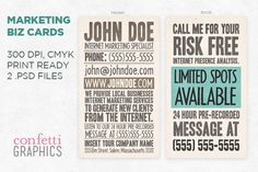 20 Handcrafted Business Card Templates | inspirationfeed.com