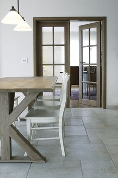 High Chairs and Table with Glass Doors for conference Space 1 High Chairs, Glass Doors, Dining Bench, Salons, Future, Studio, Kitchen, House, Home Decor