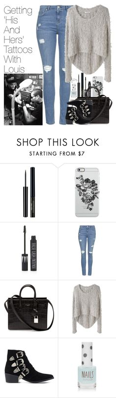 """""""Getting Matching Tattoos with Louis"""" by onedirectionimagineoutfits99 ❤ liked on Polyvore featuring Uncommon, Topshop, Yves Saint Laurent, Helmut Lang and Toga"""