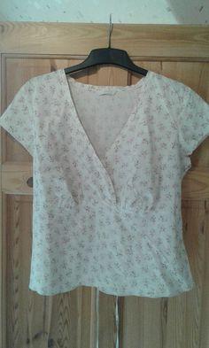 EX Marks /& Spencer Ladies Women's Pleated Shoulder Jade Top 8 10 12 14 16 18 NEW