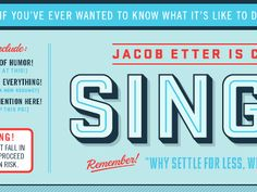 Single! by Jacob Etter (Austin, TX)
