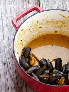 Curry de moules