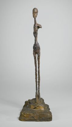Alberto Giacometti 1901 - 1966 FEMME, ÉPAULE CASSÉE, PREMIÈRE VERSION Signed A. Giacometti, numbered 1/6 and inscribed with the foundry mark Susse Fd. Paris, Bronze  Height: 27 1/4 in. Conceived circa 1958-59 and cast in 1961.