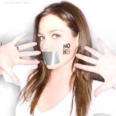 NO H8 Campaign - Agnes Bruckner