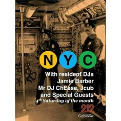 NYC Connected at Cafe/Bar 212 Leeds, UK Calling all Real Music Lovers and Real Dancers or Lovers of Dance. Your Presence is Required on The Dance Floor. #WOOT http://soundcloud.com/mr-dj-cheese