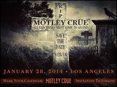 Motley Crue farewell tour? RIP: All Bad Things Must Come To An End