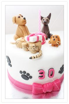 Tarta mascotas