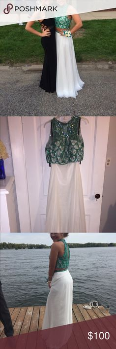 Prom dress Beautiful 2 piece prom dress only worn once! Dresses Prom