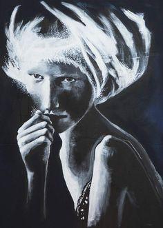 Magia Bianca, di Paola Ruggieri - 2015. Tecnica mista su tavola 60x80 | La forma minima della felicità