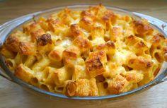Haitian recipe -  Baked Macaroni and Cheese