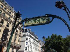 De metro van Parijs! Een feestje!