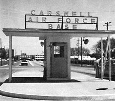Carswell Air Force Base gate, Fort Worth, Texas