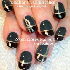 #nailart #50shades #fiftyshades #nails #nailsart #naildesign #tealnails #greynails #blacknails #stripenails