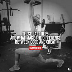 These Last Reps #fitness #inspiration #motivation #fitspiration #health