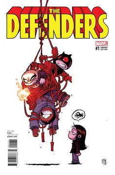 Skottie Young: Defenders #1 preview