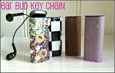 From mint tin to a fab key chain to store your ear phones