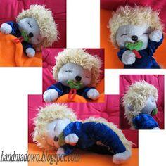 HANDMADOWO: Jeżyk- przytulanka Teddy Bear, Toys, Animals, Activity Toys, Animales, Animaux, Clearance Toys, Teddy Bears, Animal