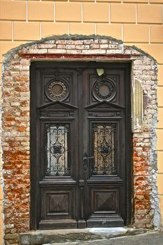 Zagreb, Croatia, door, beautiful, charming, lovely, architechture, photograph, photo