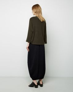 FORME D'EXPRESSION | Long Knit Skirt | Shop at La Garçonne