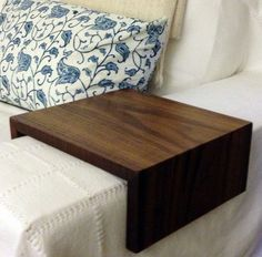 Couch Arm Wrap. Sofa Wrap. Organic Modern Arm Rest