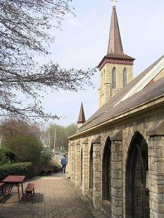 St. Paul's Episcopal Church in Downtown Beloit WI, USA