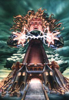 Plakat für Phantasialand, Mystery Castle 1998