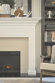 Just So Lovely: A Fireplace Tutorial