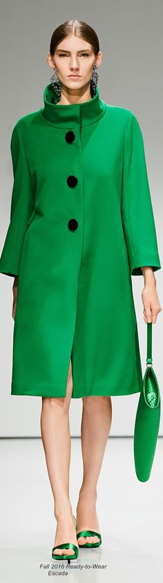 Fall 2016 Ready-to-Wear Escada