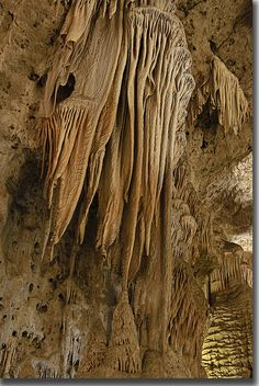 Carlsbad Caverns I went here many years ago. I can not wait to take my kids when they are older.