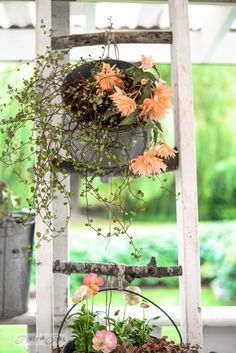 How to make your own ladder... with branches! By Funky Junk Interiors for Ebay