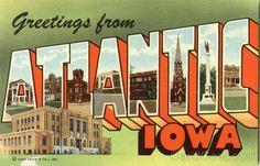 Atalntic, IA- my hometown!