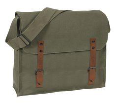Vintage Military Style Medic Bag - Khaki c8d80a12272