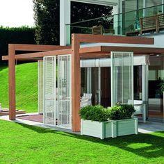 Verande apribili per terrazzi | garden and balcony | Pinterest ...