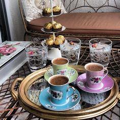 Sweet Coffee, Fresh Coffee, I Love Coffee, Coffee Break, Morning Coffee, Arabic Tea, Arabic Coffee, Turkish Coffee, Espresso Cups