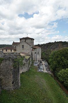 Eglise de Saint Germain de Confolens - Charente by Vaxjo, via Flickr