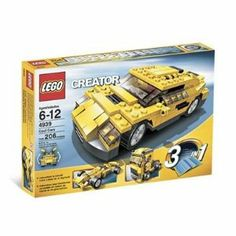 LEGO Creator: Cool Cars by LEGO. $109.89. lego's.  Manual's are in very good condition.  All pieces are accounted. LEGO Creator: Cool Cars.  Build three different cars from one set of. for.. Get ready to build, then get ready to burn rubber!