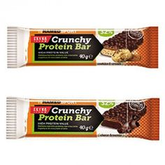 crunchy protein bar cookies & cream 40gr  – 24 pz Bar Cookies, Cookie Bars, Coconut Dream, Cookies And Cream, Protein Bars, Fitness, Excercise, Health Fitness, Rogue Fitness