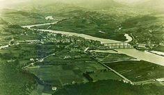Foto aérea de #Navia en los años 50 del siglo pasado