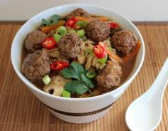 A Beef Meatball Noodle Soup You'll LOVE! - nzgirl