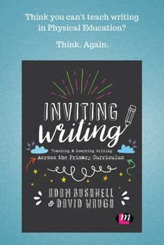 There are opportunities for teaching and learning writing in all subjects and all lessons.  This book supports you to find these opportunities and to plan, assess and develop children's writing for a range of purposes in a range of styles.