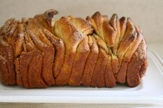Cinnamon Sugar Pull-apart Bread:  Maybe for Easter brunch Z