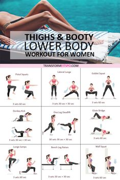 Body Workout At Home, Fitness Workout For Women, At Home Workouts, Leg Workout Women, Exercise Workouts, Extreme Workouts, Fitness Exercises, Fitness Quotes, Workout Fitness