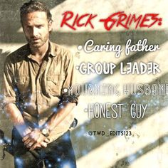 Rick Grimes, twd_edits123 on Instagram