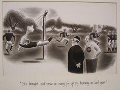 Attempted Bloggery: Richard Taylor: #Football Spring Training bit.ly/1z2gKob #snrtg #SuperBowl #RichardTaylor Richard Taylor, Spring Training, The New Yorker, Art Blog, Super Bowl, Football, Culture, Painting, Image