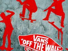 "Vans ""Off The Wall,"" campaign concept.  http://jasonsicklerdesigner.com/vans.html"