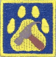 Cub Scouts/Building merit badge; Partiotuote, Rakentelu-jälki , Sudenpentujen Rakentelu-jälki