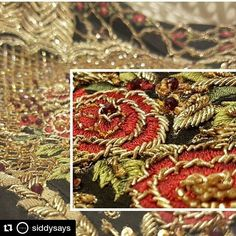 #Repost @siddysays with @repostapp ・・・ #SneakPeek to #FarahandFatima #Shahnoor for #PLBW16 showcasing on september 29thWe cant wait to see the layering, cutwork and experimental embroidery that has gone into making this variation of Shahnoor #RoadtoPLBW16 #BeautyMeetsFashion #Bridalcollection2016 #PLBW 2016 #PLBW16