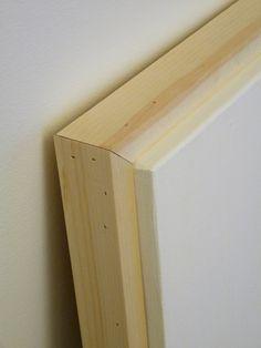 Diy Floating Frame Tutorial For 6 Diy Diy Canvas Diy Frame Diy